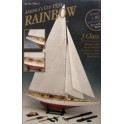 Maquette Rainbow, America Cup 1934, avec outils
