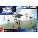 Maquette Star Wars Stap with Battle Droid