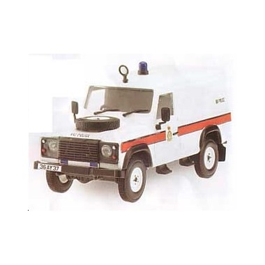 Miniature Land Rover Defender Police RAF