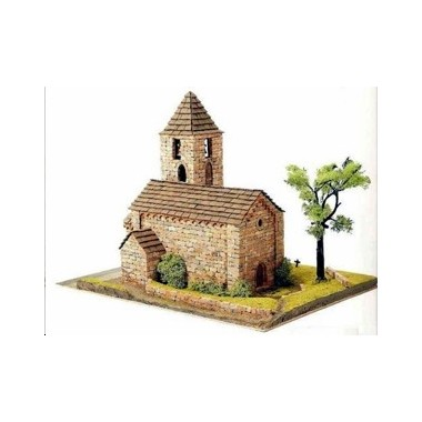 maquette d 39 eglise romane 21 maquette materiaux naturels a construire francis miniatures. Black Bedroom Furniture Sets. Home Design Ideas
