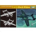 Maquette P-61B Black Widow, 2ème GM