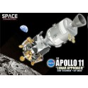 "Miniature Apollo 11 ""Lunar Approach"" CSM ""Columbia"" + LM ""Eagle"""