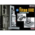 Miniature Titan IIIC w/Launch Pad