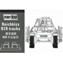 Maquette Hotchkiss H39 tank tracks pour Trumpeter/Heller
