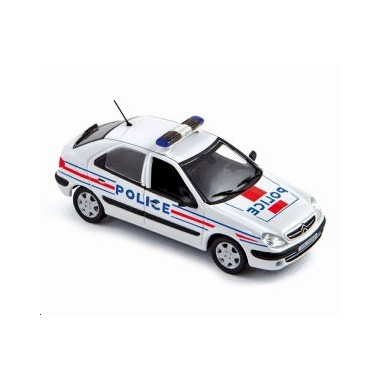 Miniature Citroen Xsara Police Nationale 2001