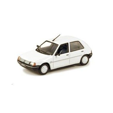 miniature peugeot 205 junior 5 portes blanche francis miniatures. Black Bedroom Furniture Sets. Home Design Ideas