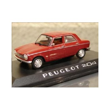 miniature peugeot 204 bordeaux francis miniatures. Black Bedroom Furniture Sets. Home Design Ideas