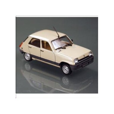 miniature renault 5 gtl 5 portes beige 1982 francis miniatures. Black Bedroom Furniture Sets. Home Design Ideas