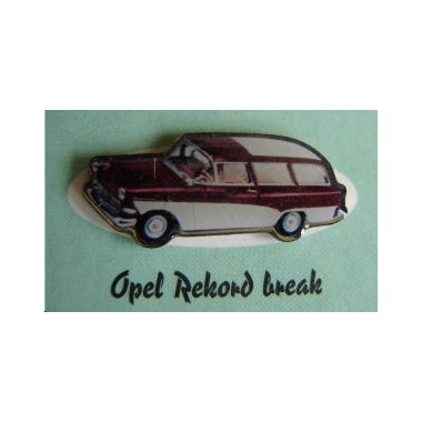 Pins Opel Rekord Break