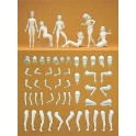 Figurines maquettes Eve