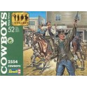 Figurines maquettes Cowboys