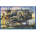 Maquette Ford T Ambulance M 19171, 1ère GM