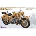 Maquette German WWII BMW R75 ( 2 motos)