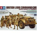 Maquette British LRDG Command Car North Africa (w/7 Figures)