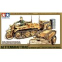 Maquette Kettenkrad w/Cart & Goliath Vehicle, 2ème GM