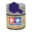 Tamiya X3 Bleu royal brillant, peinture acrylique Pot 10 ml