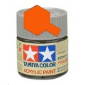 Tamiya X6 Orange brillant, peinture acrylique Pot 10 ml