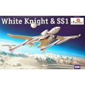 Maquette White Knight & Space Ship One (SS1)