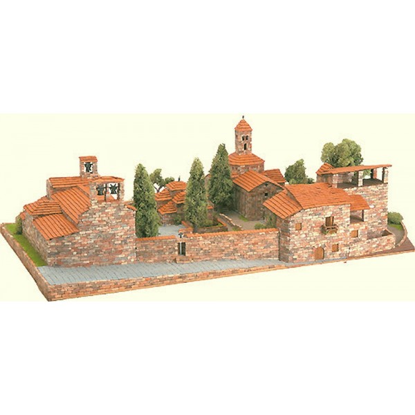 maquette de village roman st pere maquette materiaux. Black Bedroom Furniture Sets. Home Design Ideas