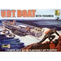 Maquette U.D.T. Boat with Frogman