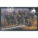 Figurines maquettes WWII Germans Army (combat team two)