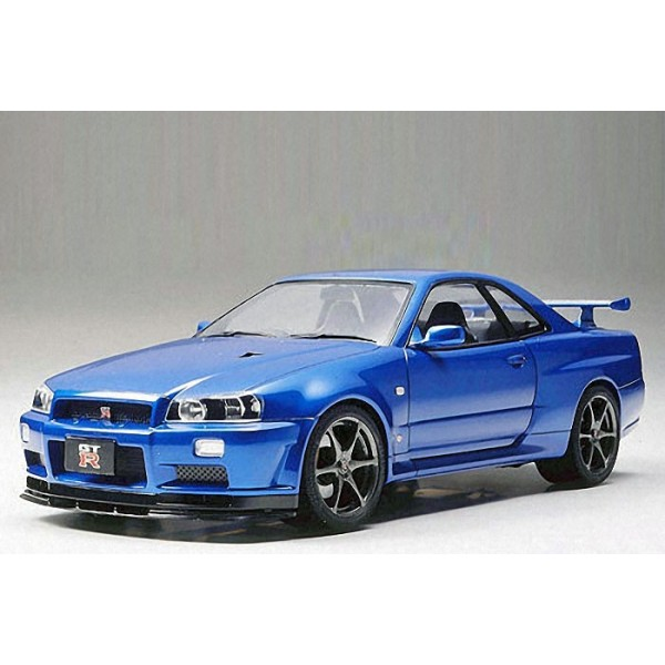 maquette nissan skyline gt r r34 ii francis miniatures. Black Bedroom Furniture Sets. Home Design Ideas