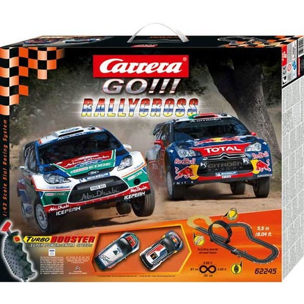 coffret circuit carrera go rallycross 1 43 francis miniatures. Black Bedroom Furniture Sets. Home Design Ideas