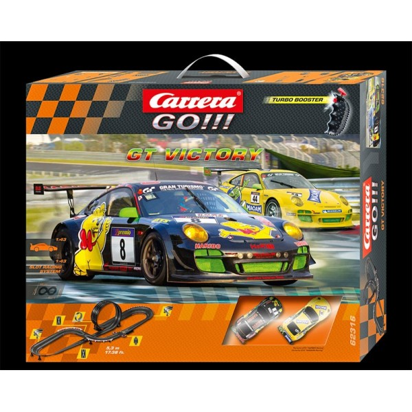 coffret circuit carrera go gt victory 1 43 francis miniatures. Black Bedroom Furniture Sets. Home Design Ideas
