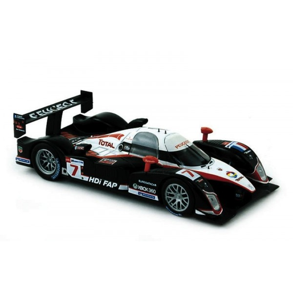 miniature peugeot 908 hdi minassian 7 le mans 2008 francis miniatures. Black Bedroom Furniture Sets. Home Design Ideas