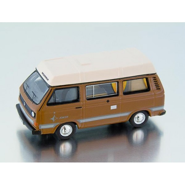 miniature volkswagen t3 camping car westfalia marron francis miniatures. Black Bedroom Furniture Sets. Home Design Ideas