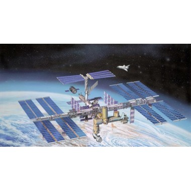 Maquette International Space Station ISS