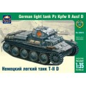Maquette German light tank Pz Kpfw II Ausf D