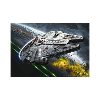 Maquette Star Wars Build & Play Millenium Falcon