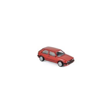 Miniature Volkswagen Golf GTI G60 1990 - Red - JET CAR