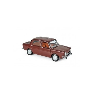 Miniature Simca 1000 LS 1974 - Amarante Red