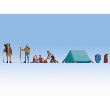 Figurines Camping