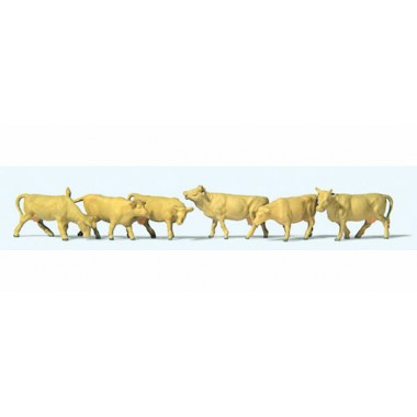 Figurines Vaches brunes